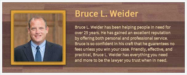 Social Security Disability Lawyer Canton MI - - Bruce L. Weider, PC - sub_banner